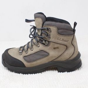 LL Bean Goretex Leather Hiking Boots Size 9